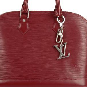 Chaveiro-Louis-Vuitton-Prateado