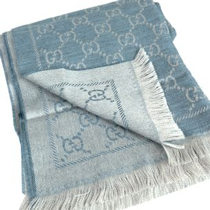 Lenco-Gucci-Monograma-Azul