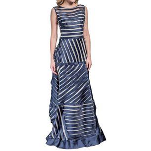 Vestido-Vitorino-Campos-Seda-Azul-e-Branco