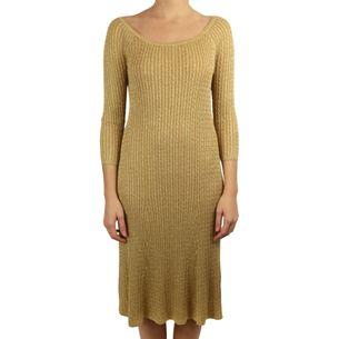 Vestido-Ralph-Lauren-Dourado