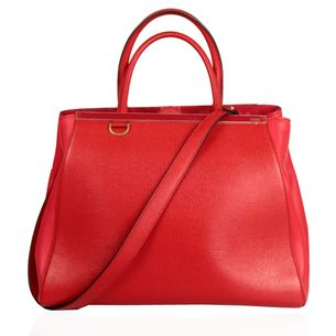 Bolsa-Fendi-2Jours-Petite-Vermelha