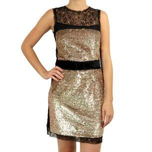 Vestido-D-G-Renda-e-Paete-Dourado