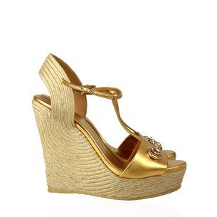Espadrille-Gucci-Couro-Dourado