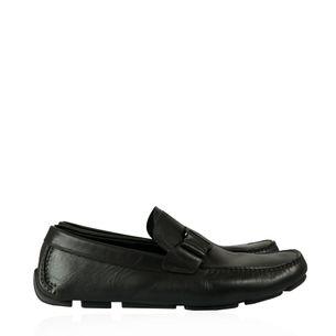 Sapato-Mocassim-Salvatore-Ferragamo-Couro-Preto