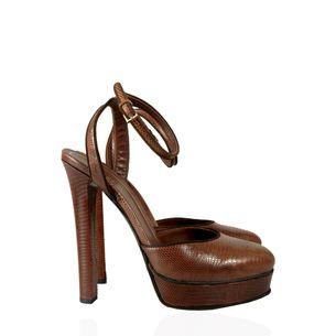 Sapato-Gucci-Python-Marrom