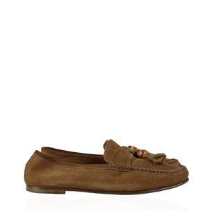 Loafer-Gucci-Camurca-Marrom