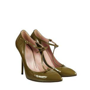 Sapato-Gucci-Veniz-Verde