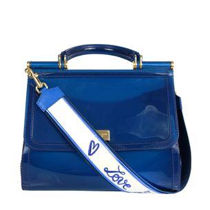 61618-Bolsa-Dolce---Gabbana-Sicily-Silicone-Azul