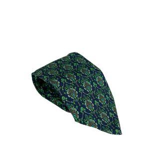 Gravata-Ermenegildo-Zegna-Azul-e-Verde