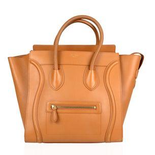 Bolsa-Celine-Luggage-Caramelo