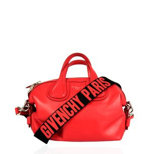 Bolsa-Givenchy-Nightingale-Vermelha-Micro