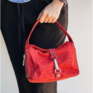 Bolsa-Givenchy-Nylon-Vermelho