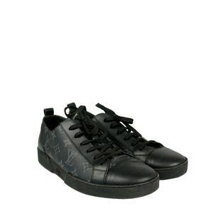 61593-Tenis-Louis-Vuitton-Monograma-Preto-verso