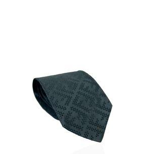 Gravata-Fendi-Monograma-Azul-Marinho