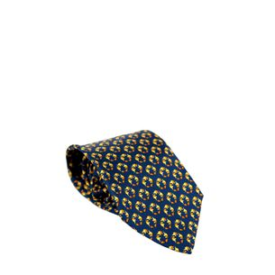 Gravata-Salvatore-Ferragamo-Azul-Marinho-Elefantinhos