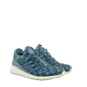 Tenis-Louis-Vuitton-Fastlane-Monograma-Denim
