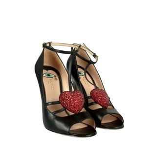 Sandalia-Gucci-Couro-Preto