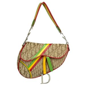 Bolsa-Christian-Dior-Saddle-Rasta