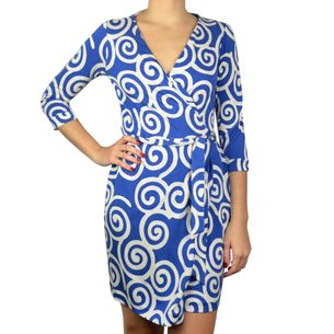 Vestido-Diane-Von-Furstenberg-Azul