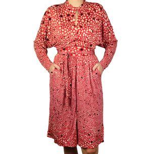 Vestido-Issa-Vermelho-Bolinhas