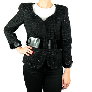 Blazer-Armani-Tweed-Preto