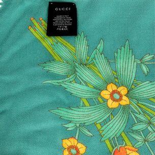 Lenco-Gucci-Azul-Floral