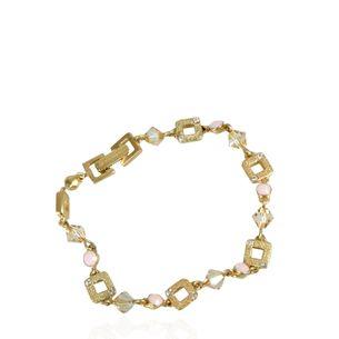 Pulseira-Givenchy-Pedras-Rosa