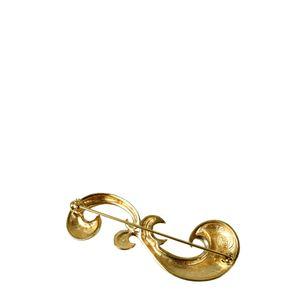 Broche-Givenchy-Dourado-Vintage