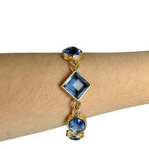 Pulseira-Givenchy-Pedras-Azuis