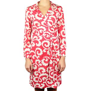Vestido-Diane-Von-Furstenberg-Espirais-Vermelho