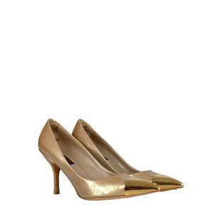 Scarpin-Louis-Vuitton-Monograma-Dourado
