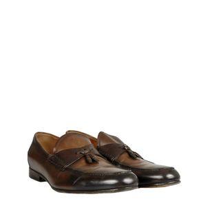 Sapato-Social-Gucci-Couro-Marrom-Degrade-Tassel