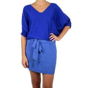 Vestido-Diane-Von-Furstenberg-Azul-Colorblock