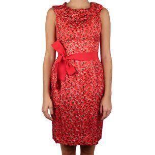 61759-Vestido-Carolina-Herrera-Floral-Vermelho
