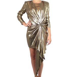 61771-Vestido-Saint-Laurent-Dourado
