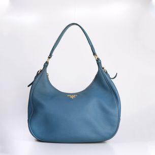Bolsa-Prada-Hobo-Couro-Azul