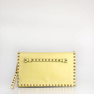 Clutch-Valentino-Rockstud-Amarelo-Pastel