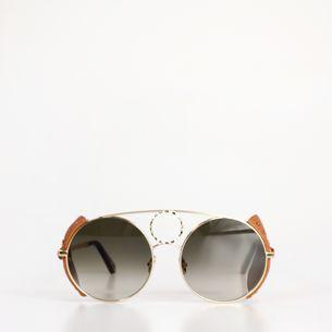 Oculos-Chloe-Round-Dourado-CE148SL