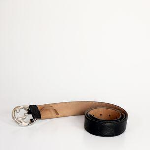 Cinto-Gucci-Guccissima-Couro-Preto