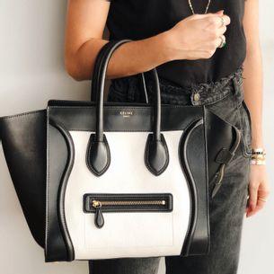 Bolsa-Celine-Luggage-Bicolor-Media