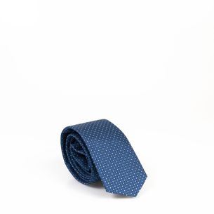 Gravata-Hugo-Boss-Azul-Poa