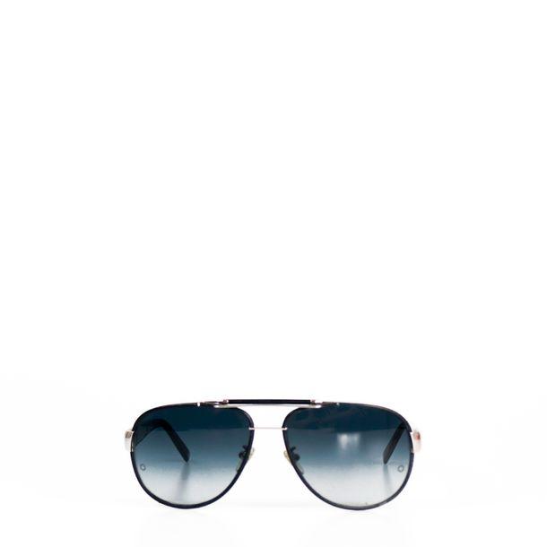 Oculos-Mont-Blanc-Aviador-Couro-Preto