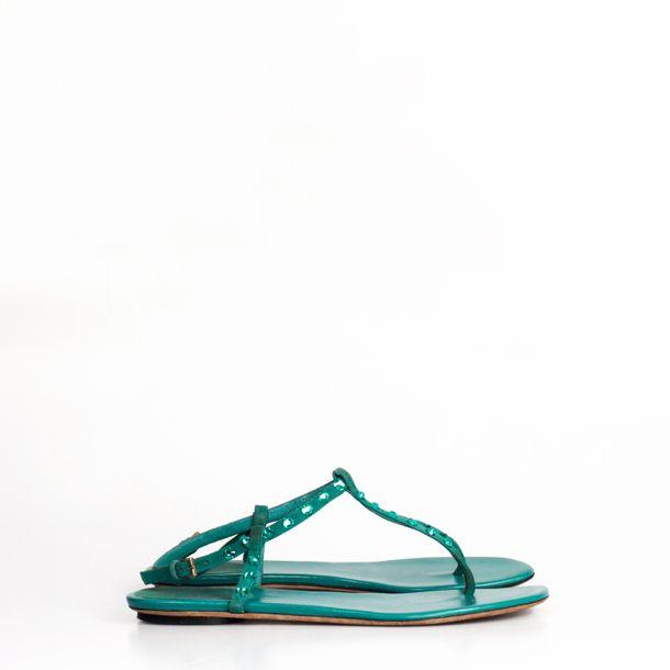 Sandalia-Rasteira-Gucci-Camurca-Verde