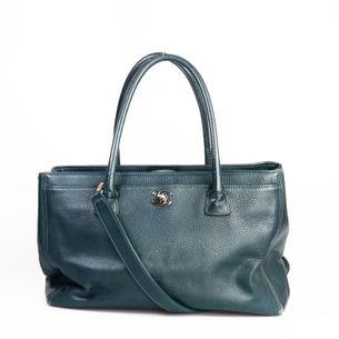 Bolsa-Chanel-Cerf-Couro-Azul