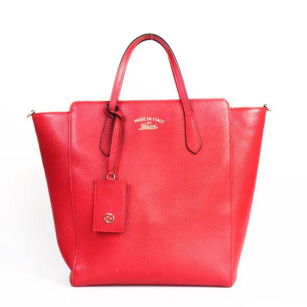 Bolsa-Gucci-Swing-Tote-Vermelha