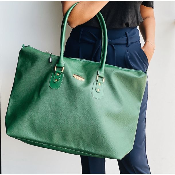 Bolsa-Weekend-Christian-Dior-Verde-Vintage