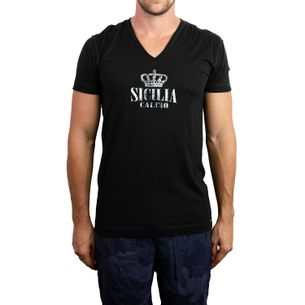 Camiseta-Dolce---Gabbana-Sicilia-Preta