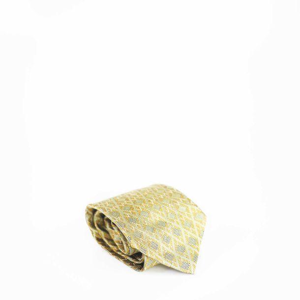 Gravata-Christian-Dior-Dourada
