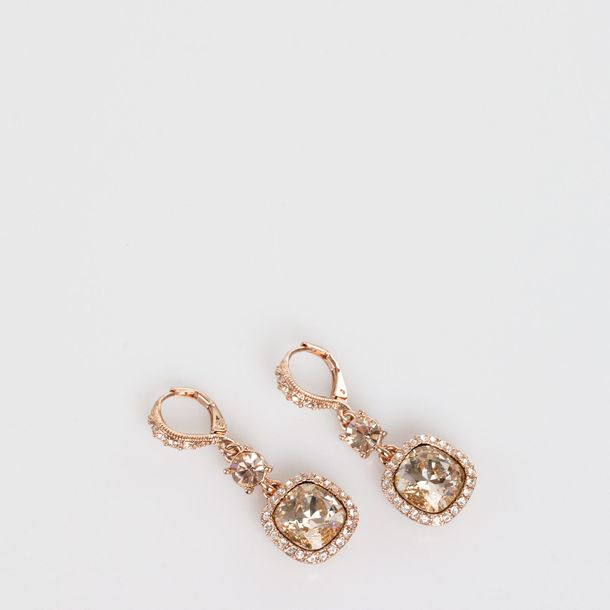 Brinco-Givenchy-Strass-Rose