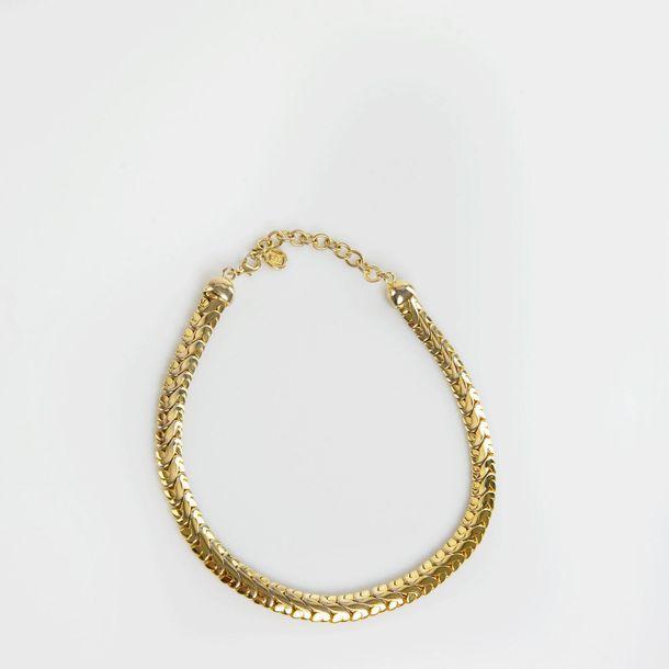 Colar-Givenchy-Chain-G-Dourada